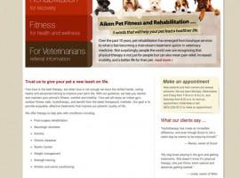 Web Site: Aiken Pet Fitness