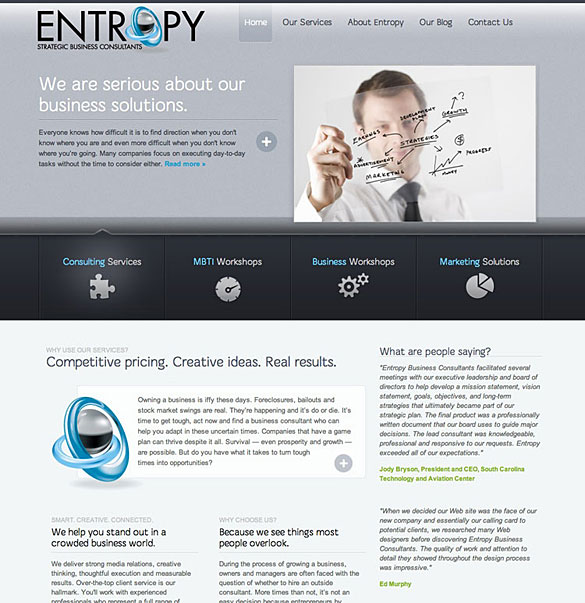 Web Site: Entropy Business Consultants