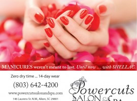 Ad Design: Powercuts Salon & Spa